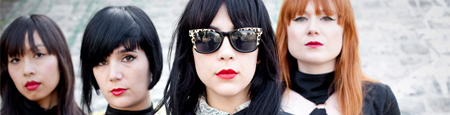Interview - Dum Dum Girls et cuir chevelu