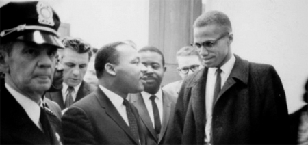 Martin Luther King & Malcolm X