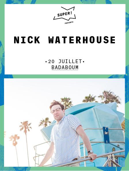 Nick Waterhouse - Visuel